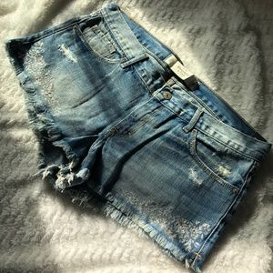 Abercrombie & Fitch Women's Mid R Shorts, Size 10